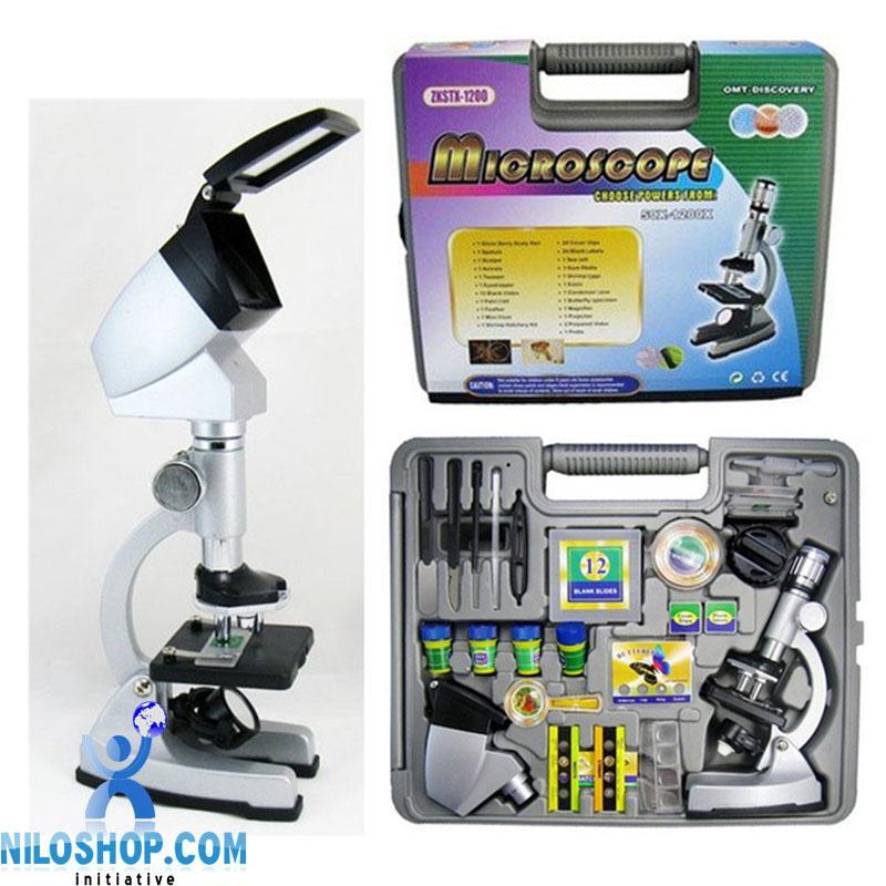 میکروسکوپ دانش آموزی 1200 مانیتور دار بدنه فلزی