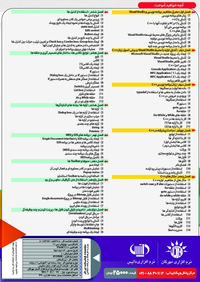 آموزش ++Visual C