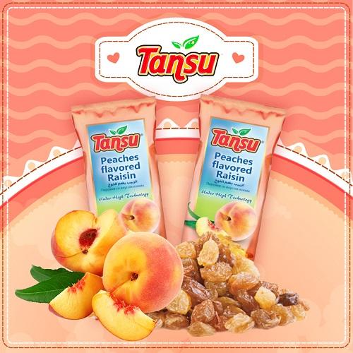کشمش طعم میوه هلو تانسو