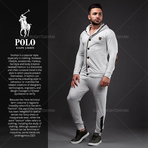 ست سویشرت و شلوار مردانه Polo مدل S2378