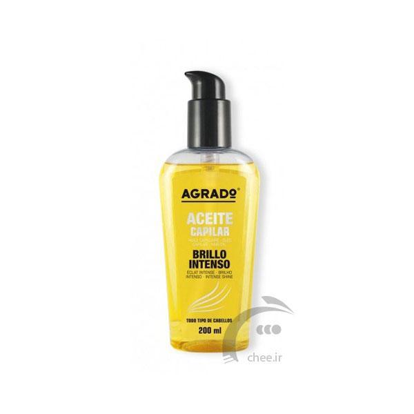 روغن ترمیم کننده گیاهی مو آگرادو Agrado