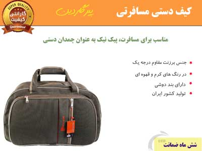 کیف دستی مسافرتی پیرگاردین