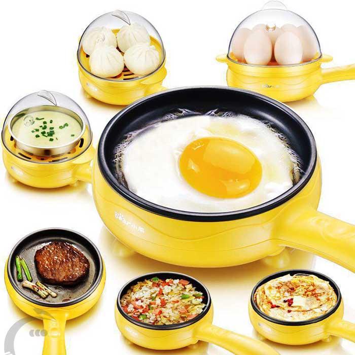 تابه تخم مرغ پز برقى چند منظوره