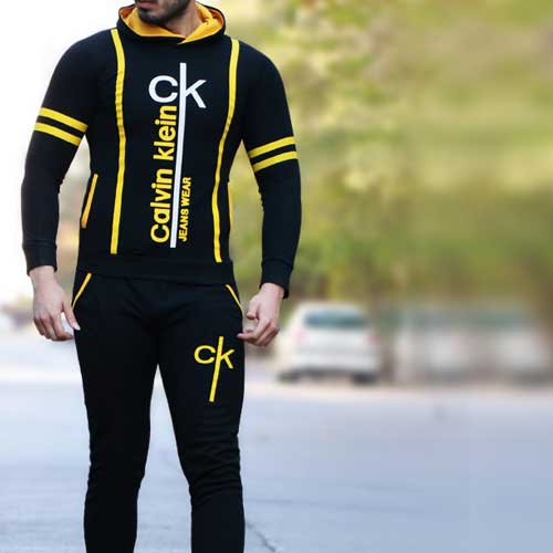 ست سویشرت و شلوار مدل CK