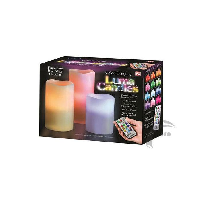 شمع زینتی لوما کندل luma candles
