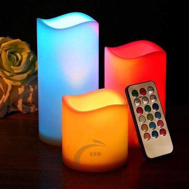 شمع های ال ای دی لوما کندل