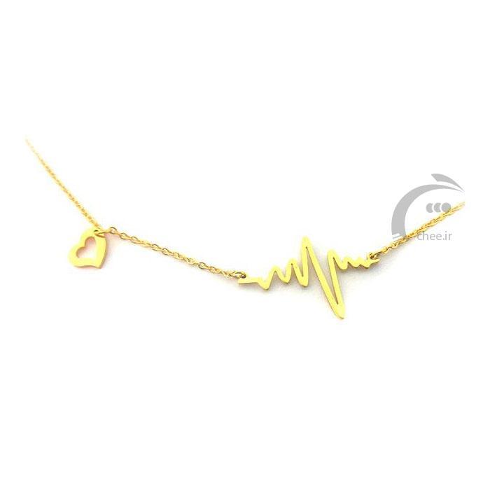 گردنبند استیل طرح طلا - مدل 16