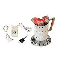 دستگاه برقی چند کاره ذغال افروز همراه با دیمر تنظیم حرارت