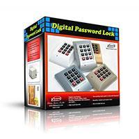 قفل رمزی دیجیتال با امنیت بسیار بالا  مدل تک رمز