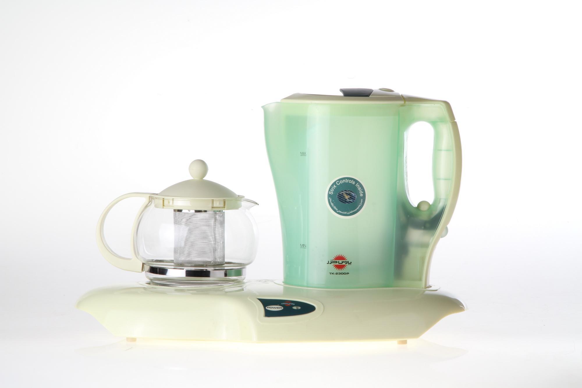 صفحه گرم کننده قوری چایساز پارس خزر مدل TM-3500P, TK-2300P