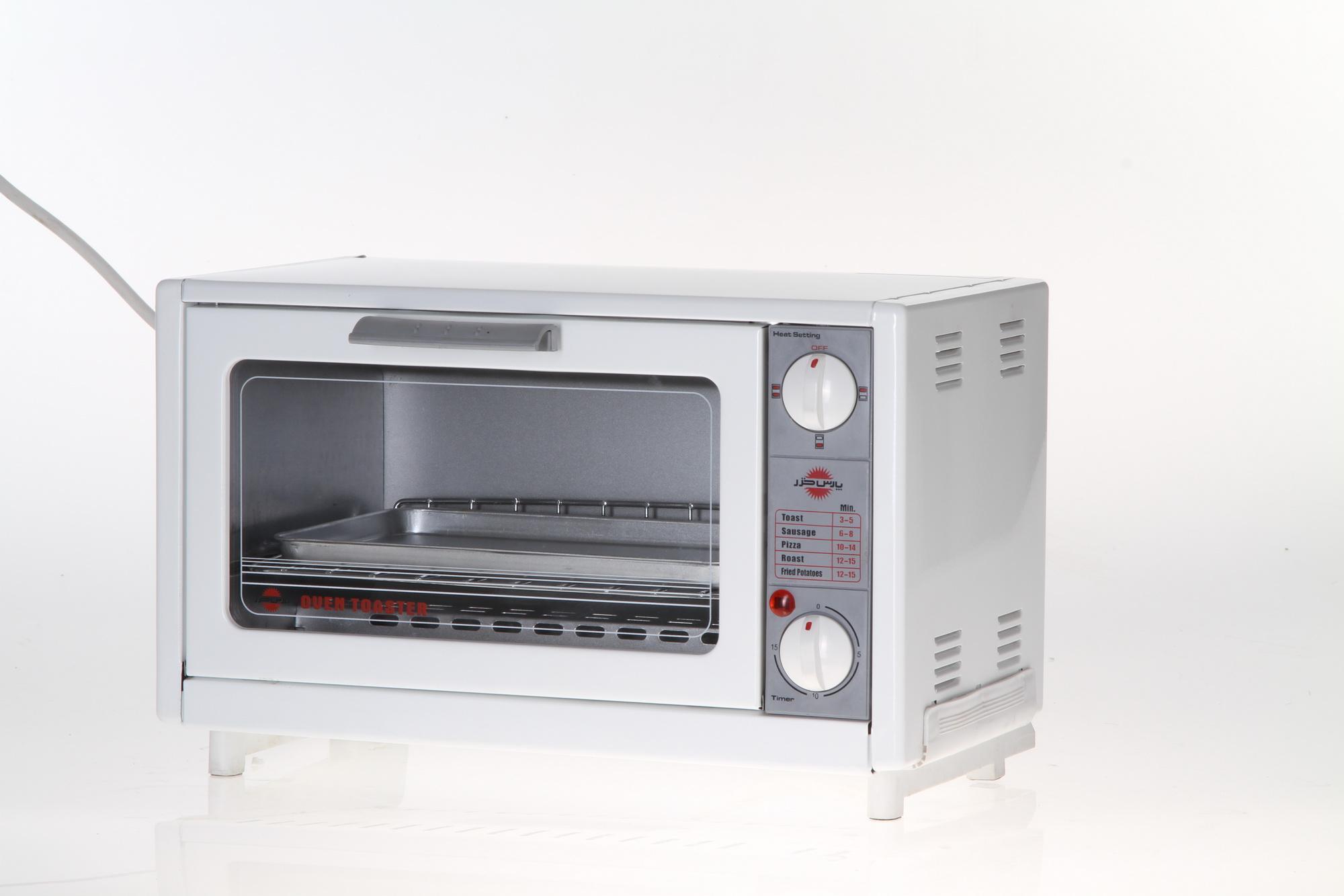 المنت حرارتی شیشه ای توستر پارس خزر مدل OT-650P