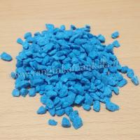 سنگ ریزه رنگی - آبی