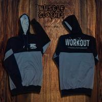 سویی شرت workout ایکس لارج (سرمه ای/طوسی) xl