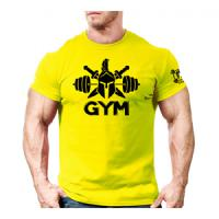 تیشرت GYM   لارج (زرد) XL
