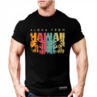 تیشرت هاوایی مشکی ایکس لارج