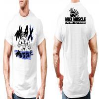 تیشرت مکس ماسل ایکس لارج(سفید)