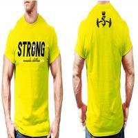 تیشرت  strong ایکس لارج ( زرد)