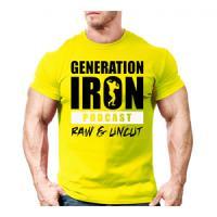 تیشرت iron generation (زرد) XL