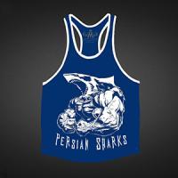 رکابی persian sharks دوایکس لارج (آبی تیره) XXL