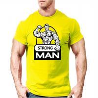 تیشرت strong دو ایکس لارج (زرد) xxl