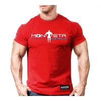 تیشرت مانستا  ( قرمز) L