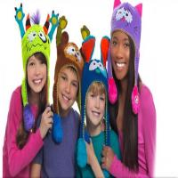 کلاه بافتنی کودکان طرح حیوانات فلیپز   Flipeez