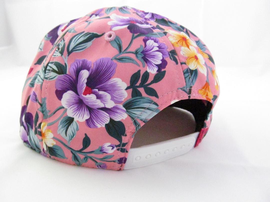 کلاه رپ خارجی اورجینال LA   گل گلی