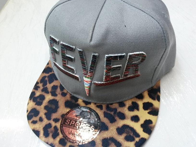 کلاه رپ fever کتان طوسی