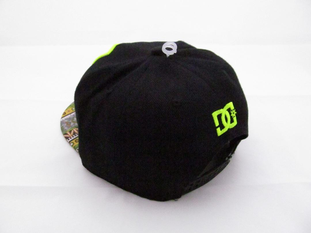 کلاه رپ خارجی اورجینال DC مشکی