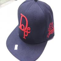 کلاه رپ خارجی dope مشکی قرمز