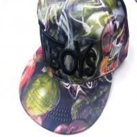کلاه رپ TFBOYS سبز رنگین