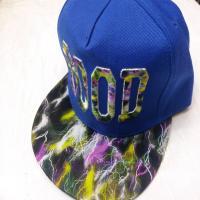 کلاه رپ good کتان آبی