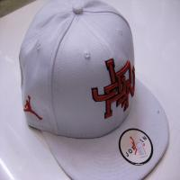 کلاه رپ خارجی jordan سفید قرمز