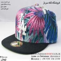 کلاه رپ اورجینال ال ای لس آنجلس کتان رنگین