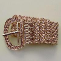 دستبند کریستال کمربندی