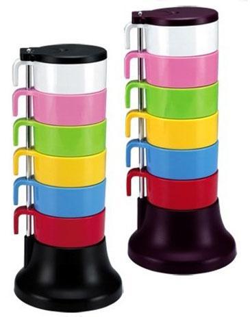 ست لیوان های رنگی کمپینگ