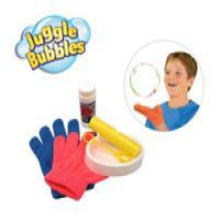 حباب ساز با دستکش