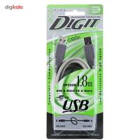 Daiyo Dongle Digit USB CP2508 Cable 1.8m