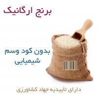 برنج حق یار بدون کود و سم شیمیایی  طارم محلی 5 کیلویی