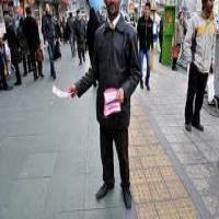 پخش تراکت و آگهی نامه هادر نور