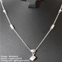 آویز نقره - جواهر زنجیردار