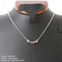 آویز نقره - زنجیردار سه قلب
