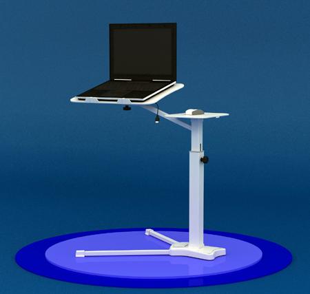 میز حرفه ای لپ تاپ فن دار