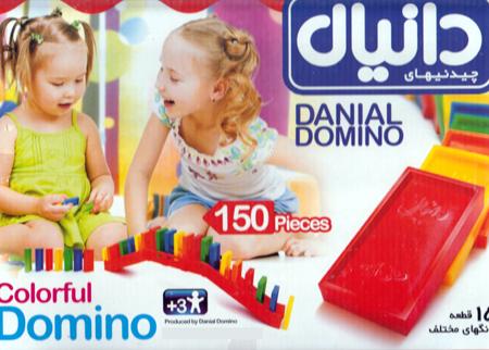 بازی فکری چیدنی ها 150 عددی (دومینو) دانیال