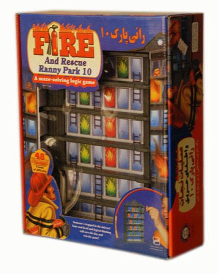 بازی فکری معمای رانی پارک 10 (عملیات نجات و اطفای حریق)