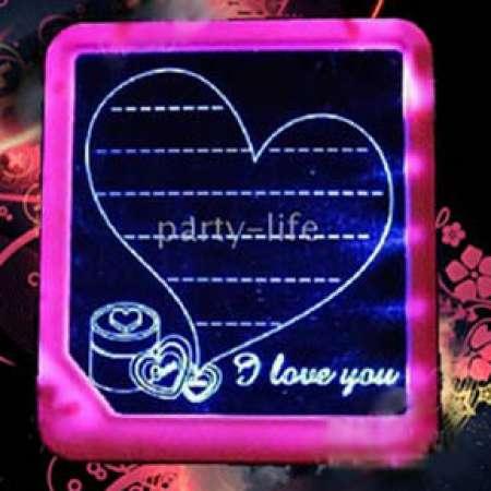 عشق-تخته وایت برد جادویی LEDتخته   18