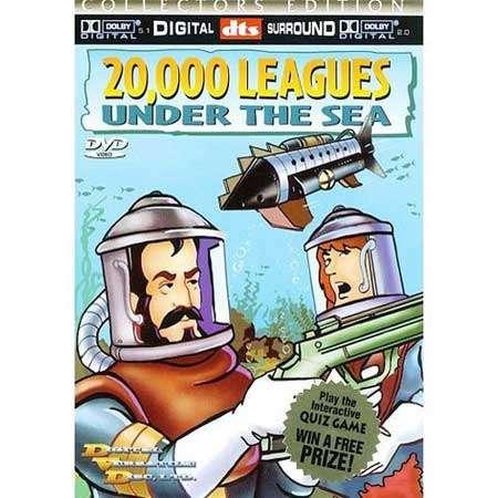 خرید کارتون 20000 فرسنگ زیر دریا (دوبله فارسی در 1 DVD )