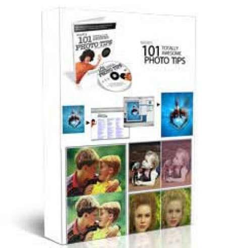 آموزش کاربردی فتوشاپ mark monciardini 101 Photoshop Tips (1 DVD)