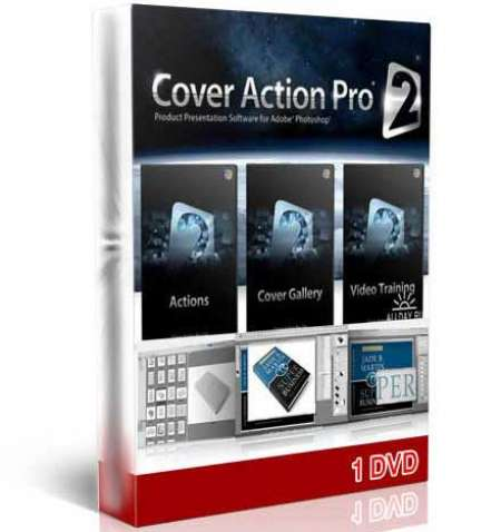 پلاگین Cover Action Pro 2(1 DVD)