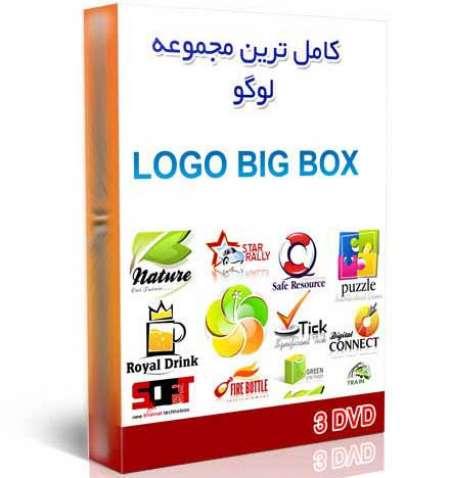مجموعه لوگوهای کمپانی هاِی معروف بصورت وکتورLOGO Collection  (3 DVD)